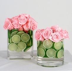 limão e rosas